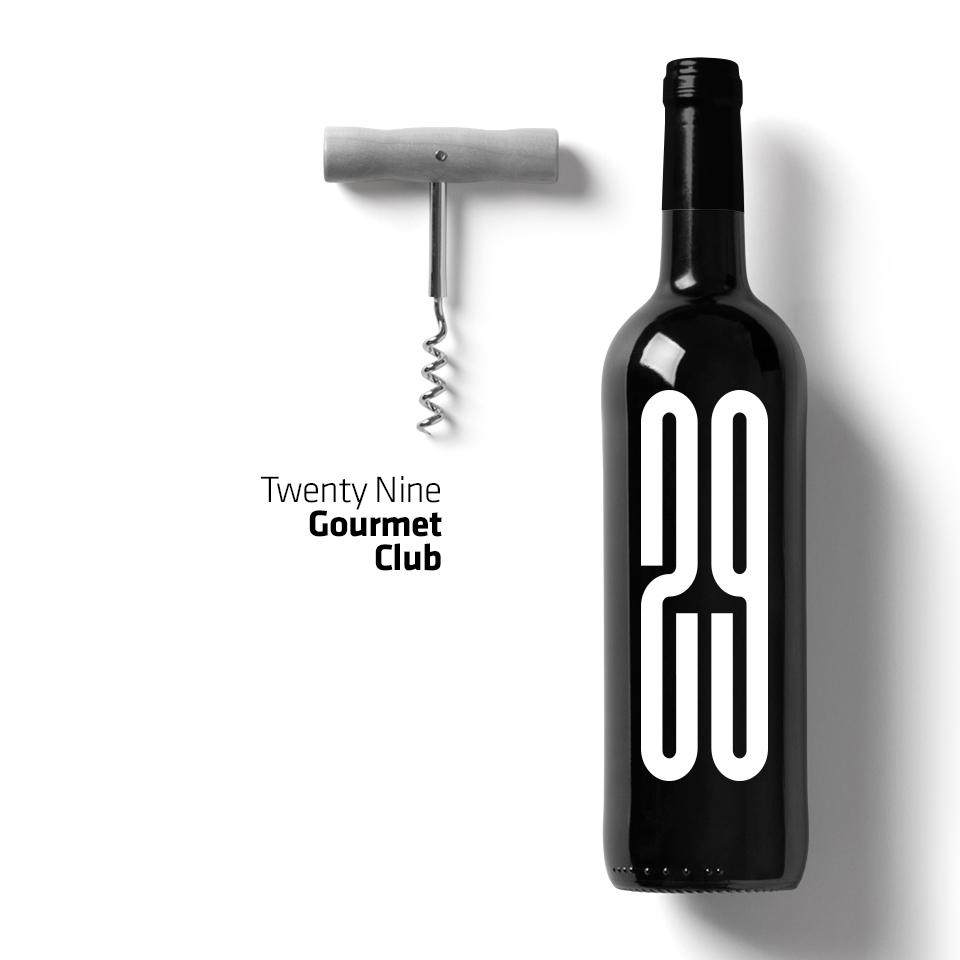 29 Gourmet Club | Identity